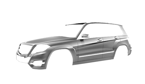Цвета кузова GLK-Class (X204)